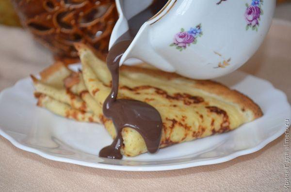 шоколадный соус рецепт