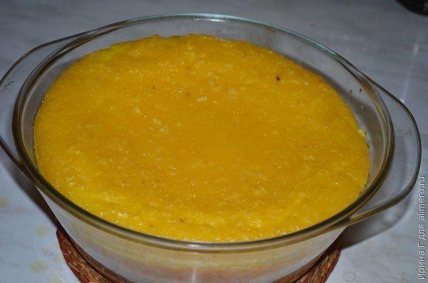 творожно-апельсиновая запеканка рецепт