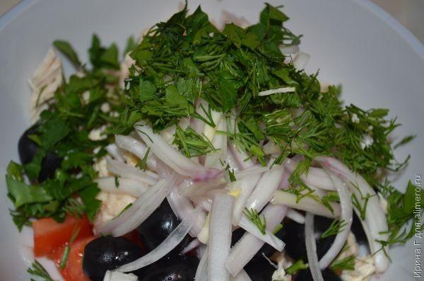диетический салат из курицы и овощей рецепт