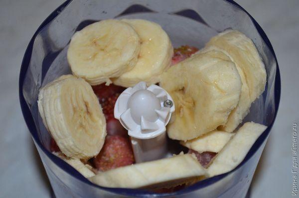 коктейль из йогурта и фруктов рецепт