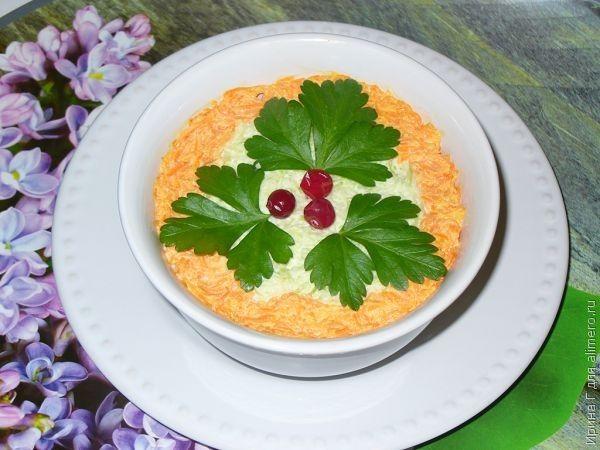 салат из моркови и редьки рецепт