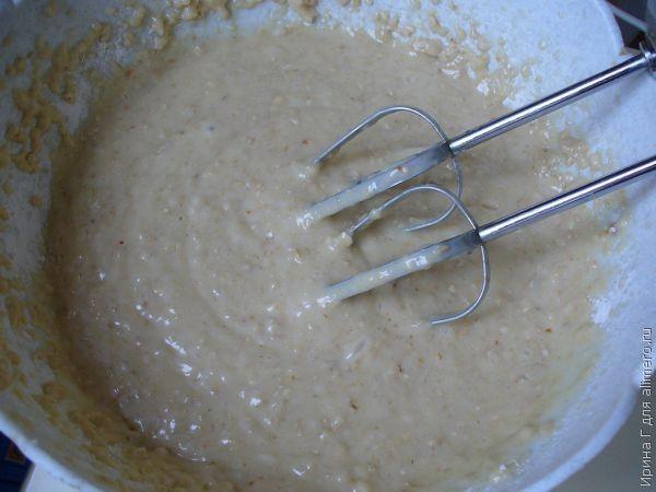 медово-овсяный пирог рецепт