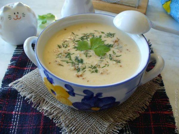 куриный крем-суп рецепт