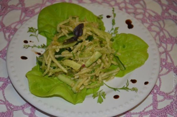 диетический салат рецепт