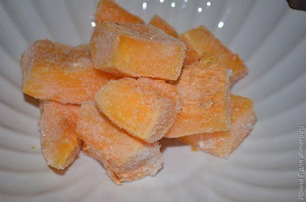 тыквенный напиток с морковным соком и апельсином