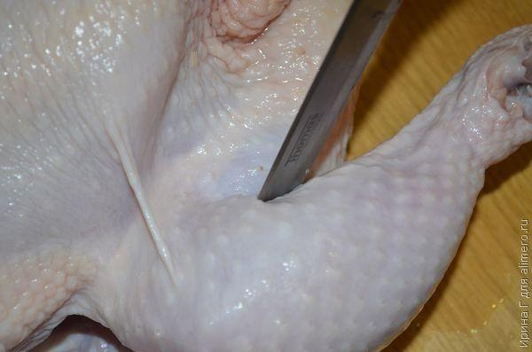курица, запеченная в пакете рецепт