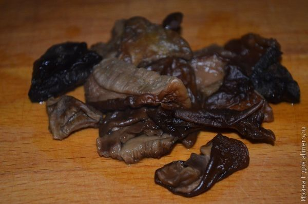гречка с грибами рецепт