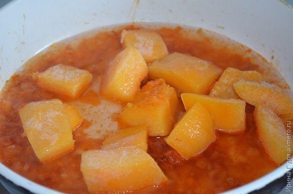 тыквенное пюре с луком рецепт