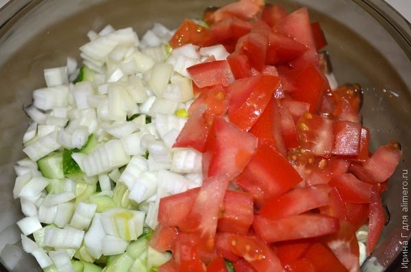 картофельный салат с карри
