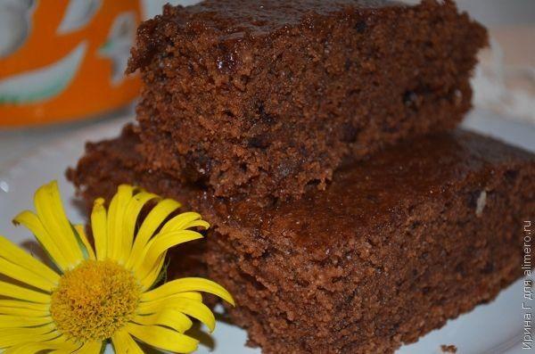 шоколадный манник рецепт