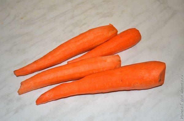 Творожно-морковная запеканка рецепт