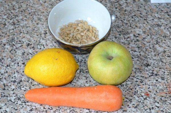 морковно-яблочный салат рецепт