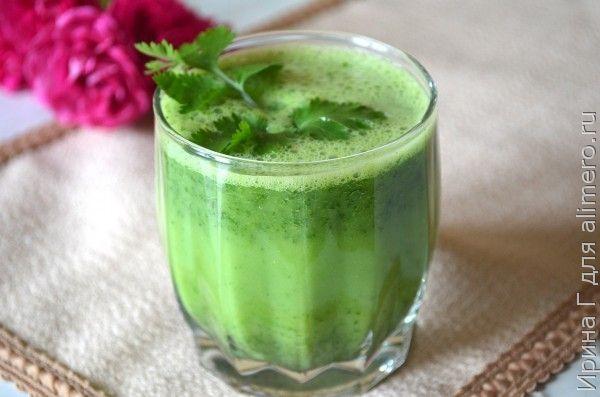 диетический напиток на айране рецепт
