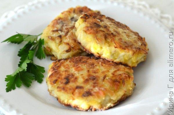 капустные котлеты с сыром
