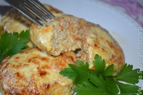 котлеты из курицы и моркови рецепт
