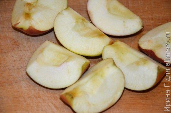 салат из черной редьки с яблоком