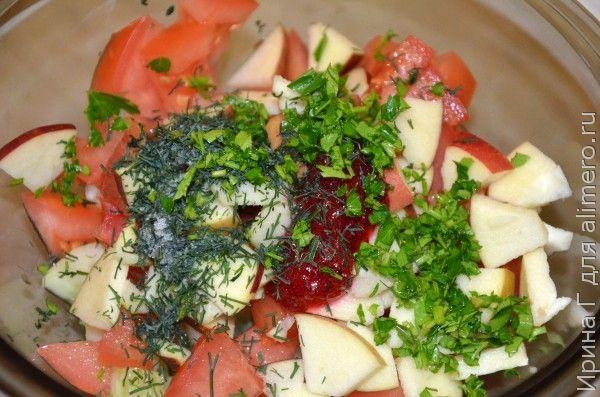витаминный салат детский
