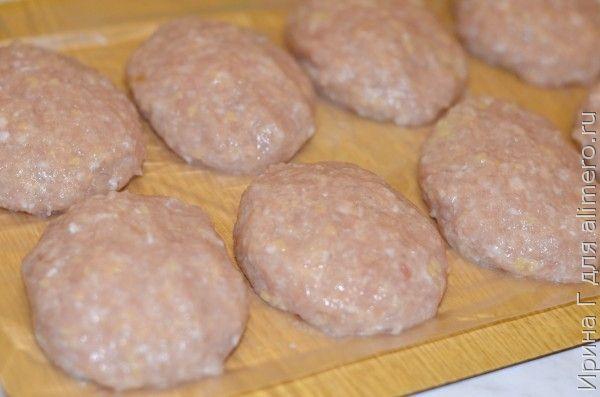 котлеты из курицы и свинины рецепт