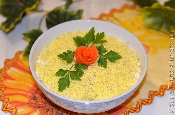 Салат с редькой рецепт
