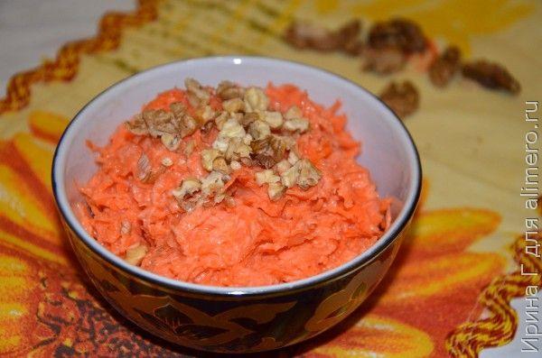 салат из моркови рецепт