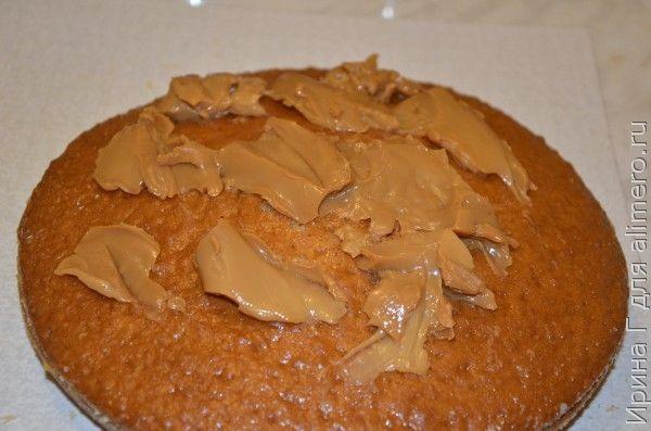 торт на сгущенке