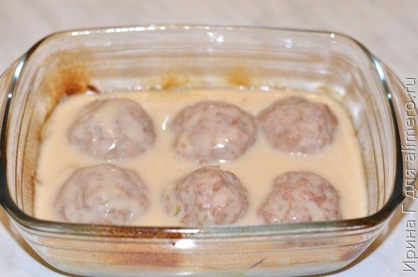 сметанный соус для тефтелей