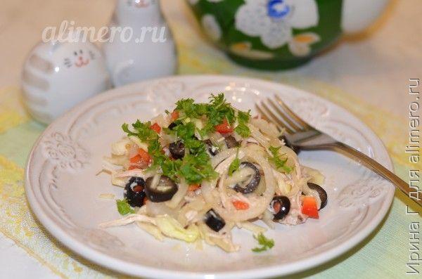 салат из капусты рецепт