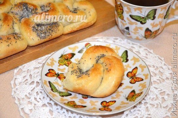 Рецепты дрожжевых булочек на воде с фото