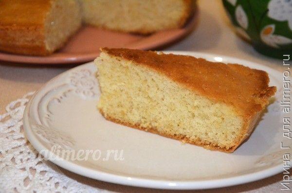 бисквитный пирог рецепт