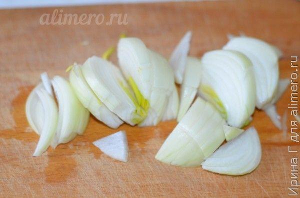 омлет с жареным луком рецепт