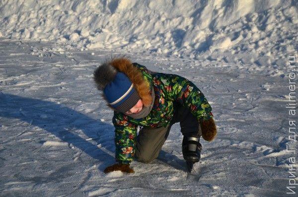 Как научить кататься на коньках ребенка в 3 года