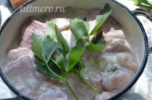 шашлык свиной рецепт