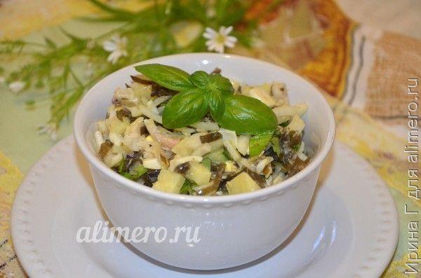рецепт салата рыбного с картошкой в