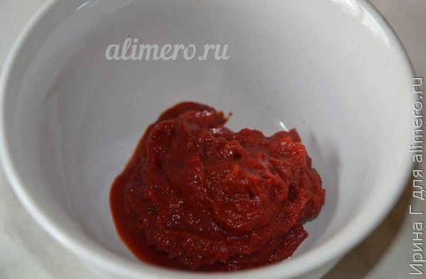 тефтели с гречкой в томате
