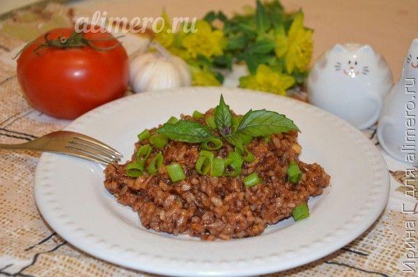красный рис в духовке