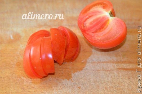 фруктовый салат с помидором