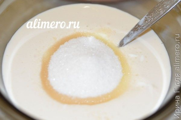 молочный десерт из ряженки вместо мороженого