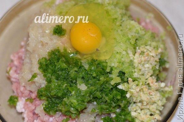 котлеты из свинины с овощами