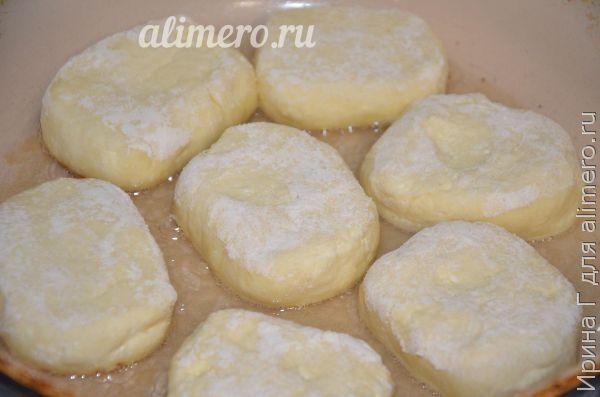 Сырники из творога сладкие рецепт с фото