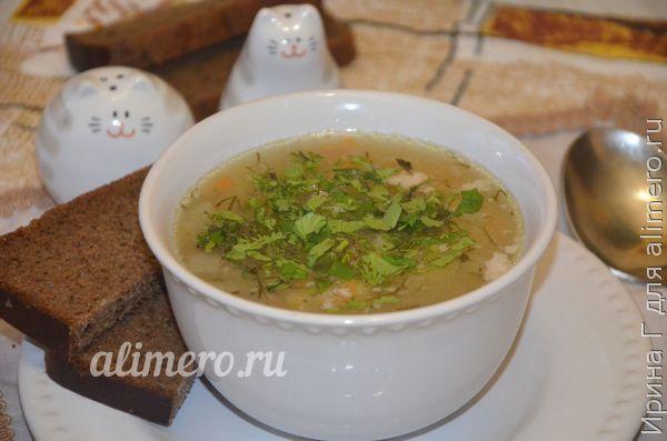 суп со свининой и перловкой