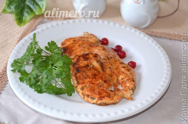 куриное филе в листах для жарки