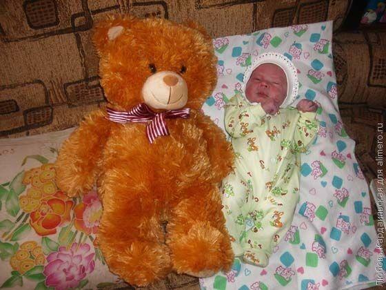 вот такой мой сыночек родился