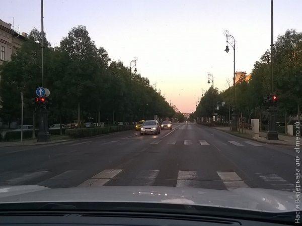 утро в Будапеште