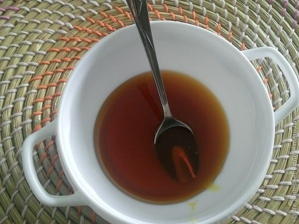 компресс на меду