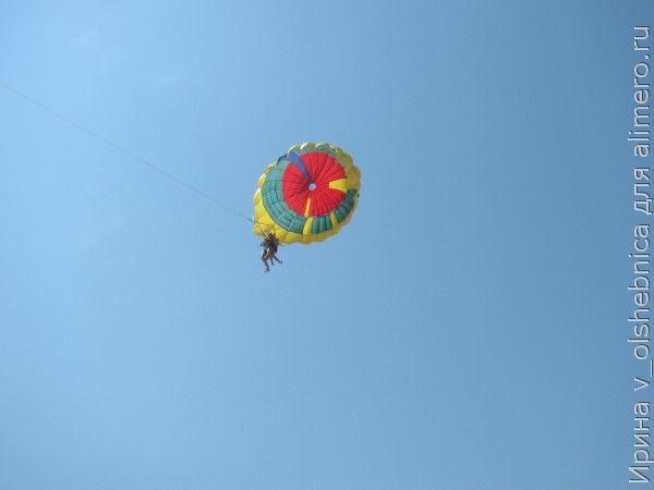полет с парашютом фото