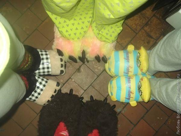 Как я организовала пижамную вечеринку