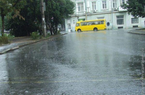 Почему люди боятся дождя?