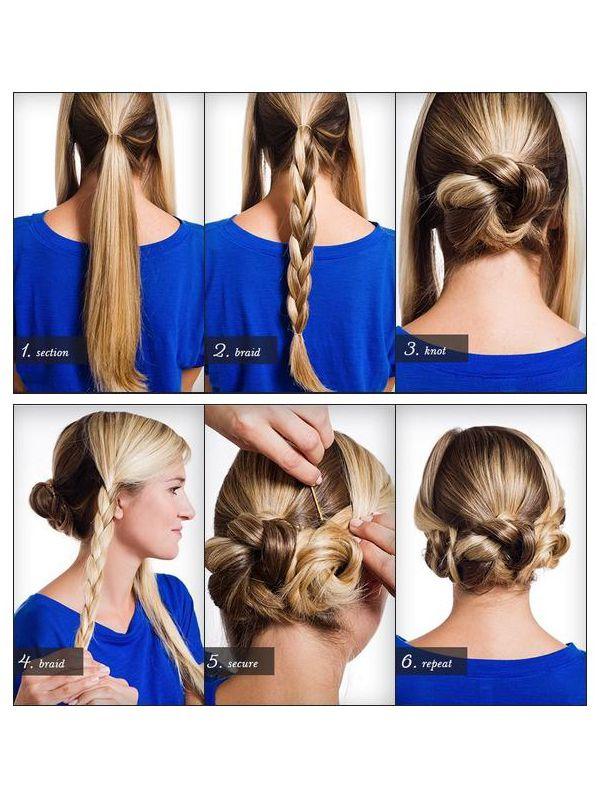Как сделать себе красивую прическу из длинных волос