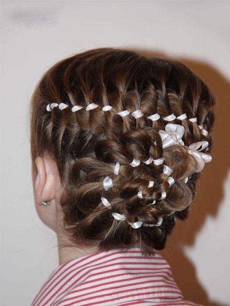 Прически на выпускной плетение для девочек