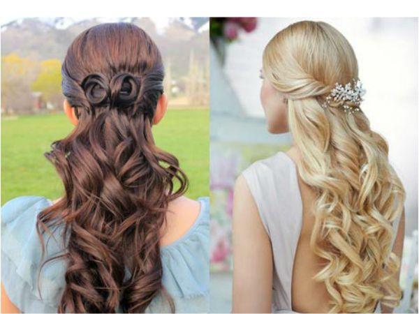Бант, выложенный из прядей волос, смотрится очень необычно. Такая прическа подойдет как девочке, так и взрослой женщине.